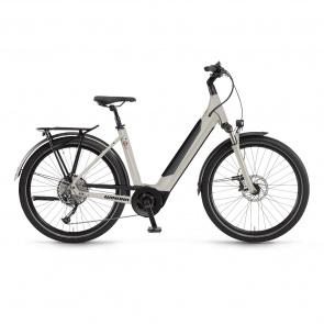 Winora 2021 Vélo Electrique Winora Sinus 9 i625 Easy Entry Gris Foncé Mat 2021 (440921)