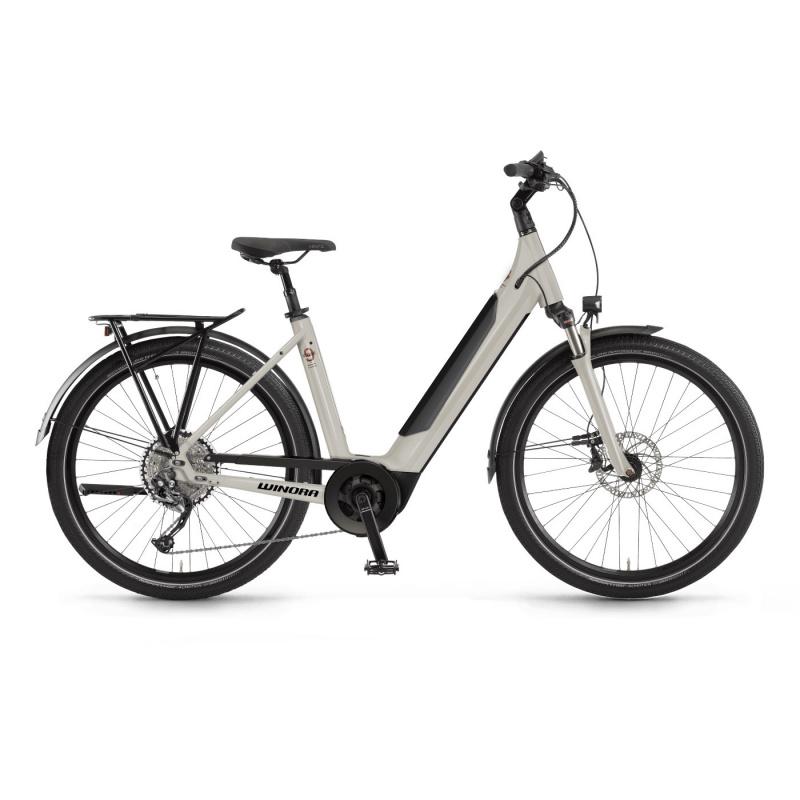 Vélo Electrique Winora Sinus 9 i625 Easy Entry Gris Foncé Mat 2021 (440921) (44092146)
