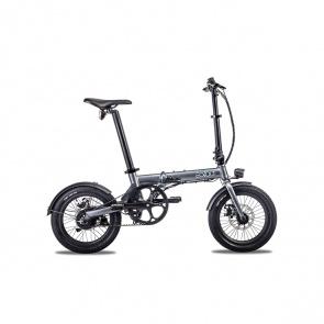 EOVOLT Vélo Electrique Pliable Eovolt City Belt Drive Gris Anthracite (EVO3-2)