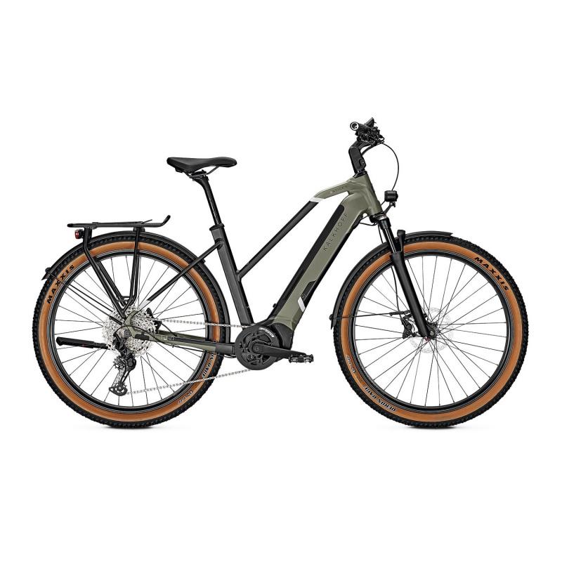 Vélo Electrique Kalkhoff Entice 5.B Advance+ 625 Trapèze Vert/Noir 2021 (641528225-7) (641528225)