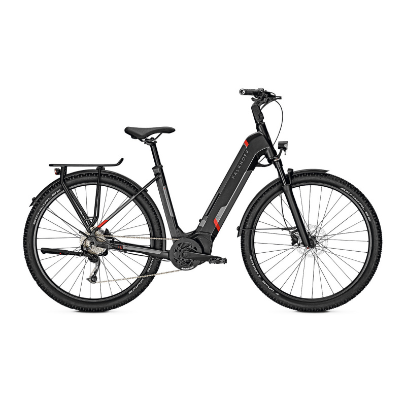 Vélo Electrique Kalkhoff Entice 5.B Season 625 Easy Entry Noir Mat 2021 (641528295-8) (641528295)