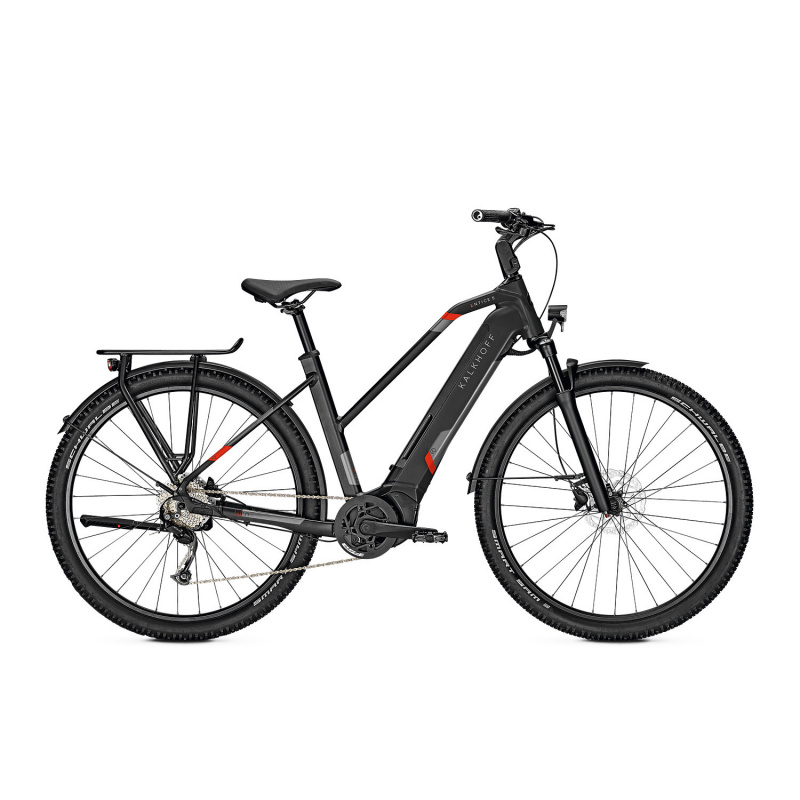 Vélo Electrique Kalkhoff Entice 5.B Season 625 Trapèze Noir Mat 2021 (641528286-8) (641528286)