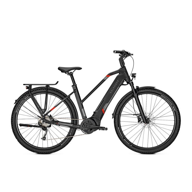Vélo Electrique Kalkhoff Entice 5.B Season 625 Trapèze Noir Mat 2022 (641528286-8) (641528286)