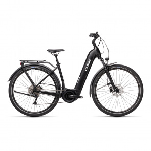 Cube 2021 Vélo Electrique Cube Touring Hybrid Pro 500 Easy Entry Noir/Blanc 2021 (431101)