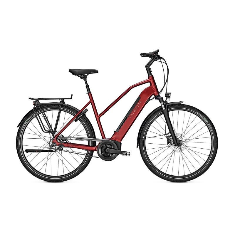 Vélo Electrique Kalkhoff Image 3.B Excite 500 Trapèze Rouge 2021 (641527425-7) (641527425)