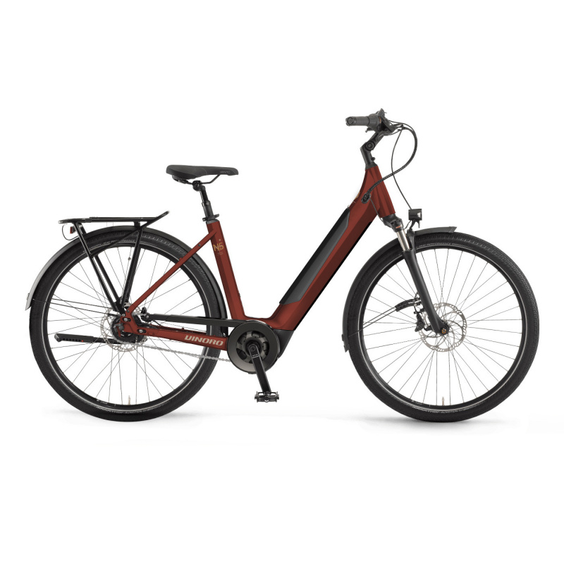 Vélo Electrique Winora Sinus N5f i625 Easy Entry Rouge 2021 (440701) (44070146)
