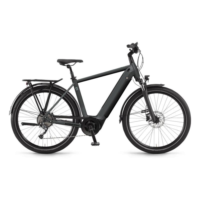 Vélo Electrique Winora Sinus 9 i625 Gris Foncé Mat 2021 (440881) (44088148)