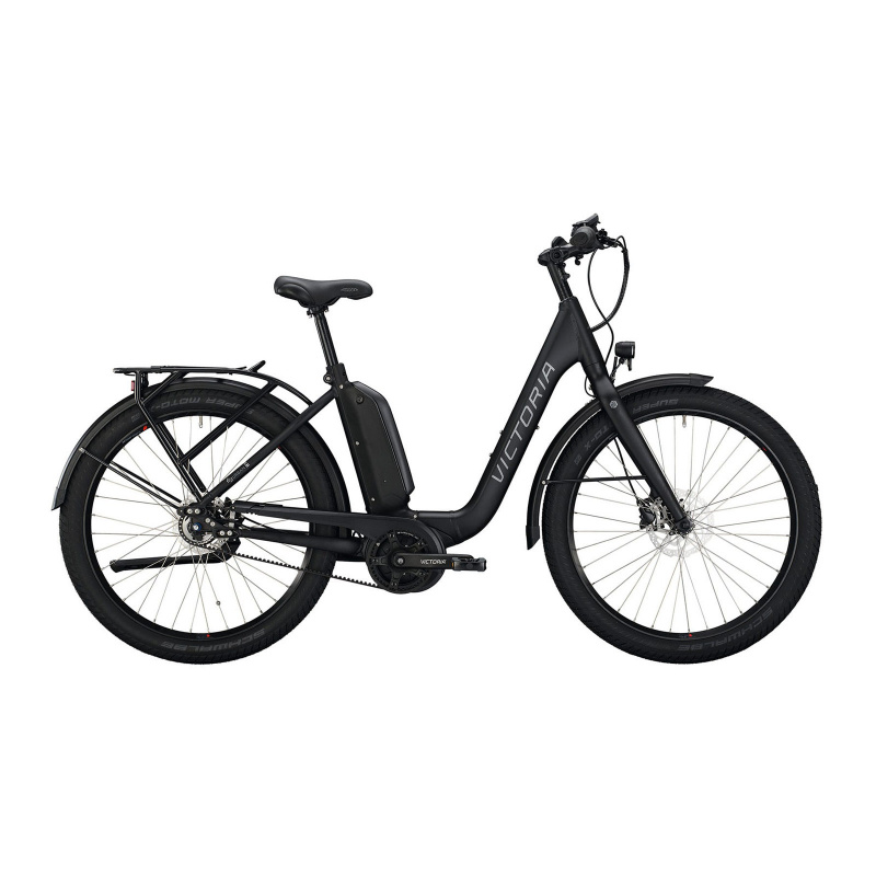 Vélo Electrique Victoria eUrban 11.8 500 Easy Entry Noir Mat 2021 (2966141)