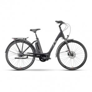 Husqvarna Vélo Electrique Husqvarna Eco City 4  CB Easy Entry Noir/Argent 2021 (5000011356)
