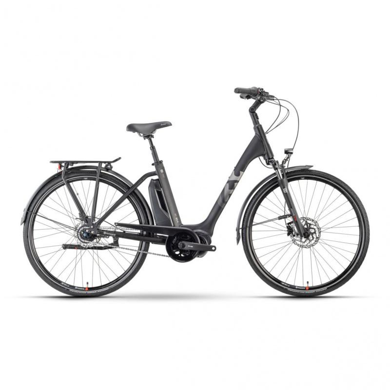 Vélo Electrique Husqvarna Eco City 4  CB Easy Entry Noir/Argent 2021 (5000011356)