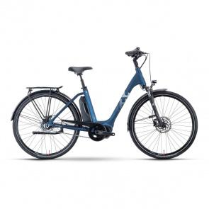 Husqvarna Vélo Electrique Husqvarna Eco City 4  CB Easy Entry Bleu/Blanc 2021 (5000011548)