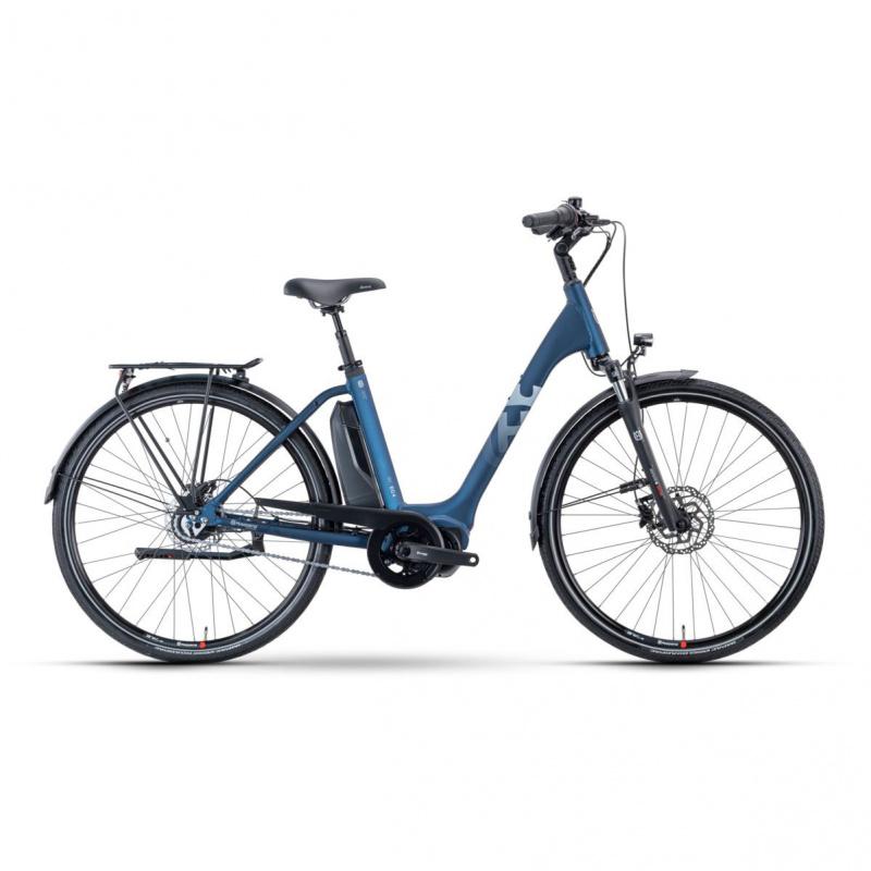 Vélo Electrique Husqvarna Eco City 4  CB Easy Entry Bleu/Blanc 2021 (5000011548)