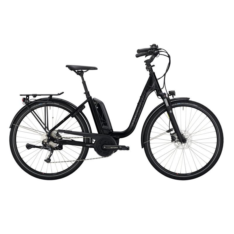 Vélo Electrique Victoria eTrekking 6.5 500 Easy Entry Noir Mat 2021  (2970606)