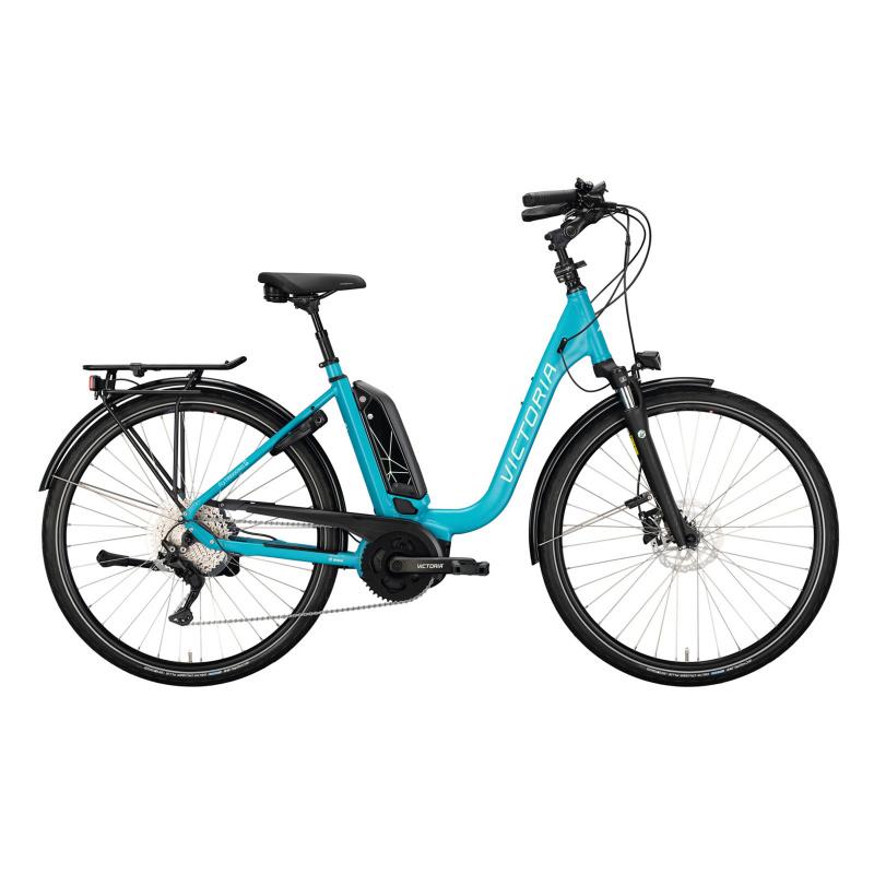 Vélo Electrique Victoria eTrekking 6.5 500 Easy Entry Turquoise Mat 2021  (2970663)