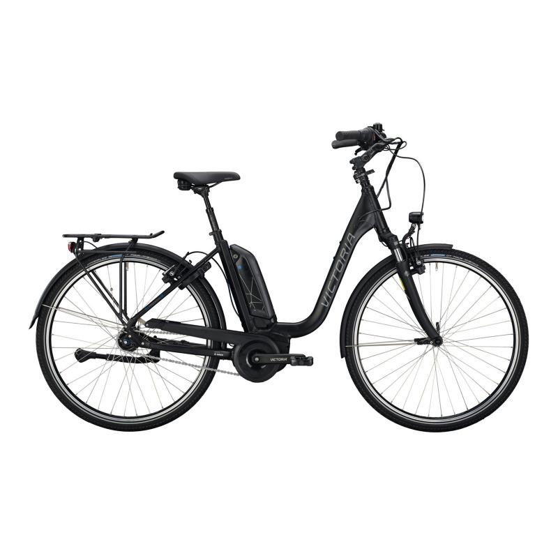 Vélo Electrique Victoria eTrekking 7.6 500 Easy Entry Noir Mat 2021  (2963353)