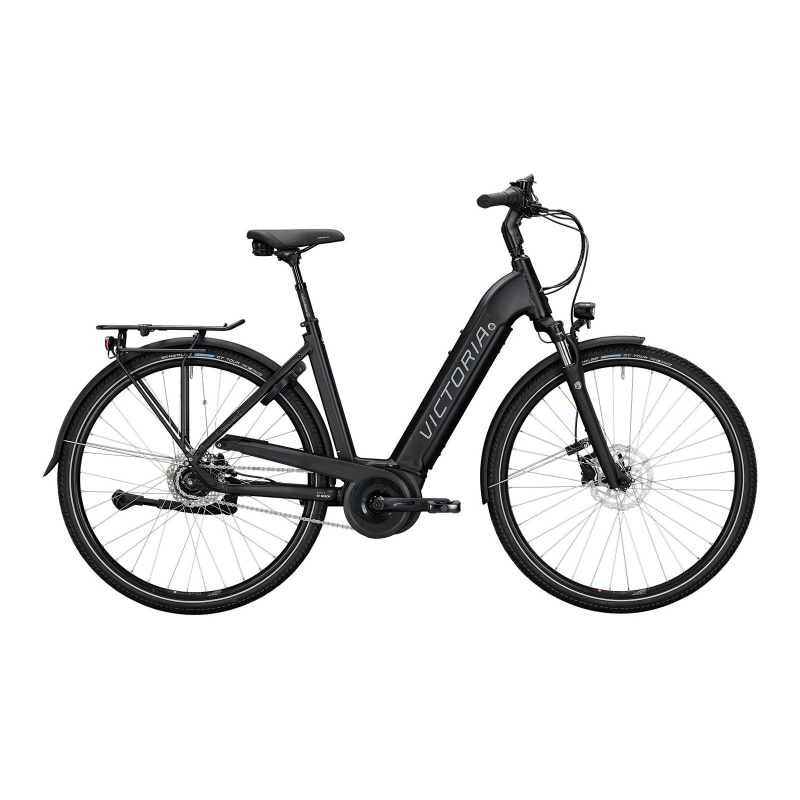 Vélo Electrique Victoria eTrekking 11.4 500 Easy Entry Noir Mat 2021  (2964344)