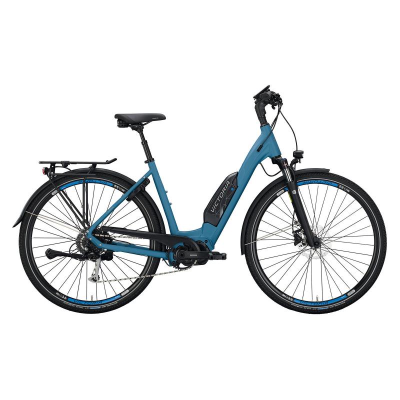 Vélo Electrique Victoria eTouring 6.4 500 Easy Entry Bleu Mat 2021  (2964930)