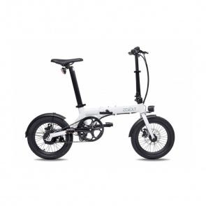 EOVOLT Vélo Electrique Pliable Eovolt City Belt Drive Blanc
