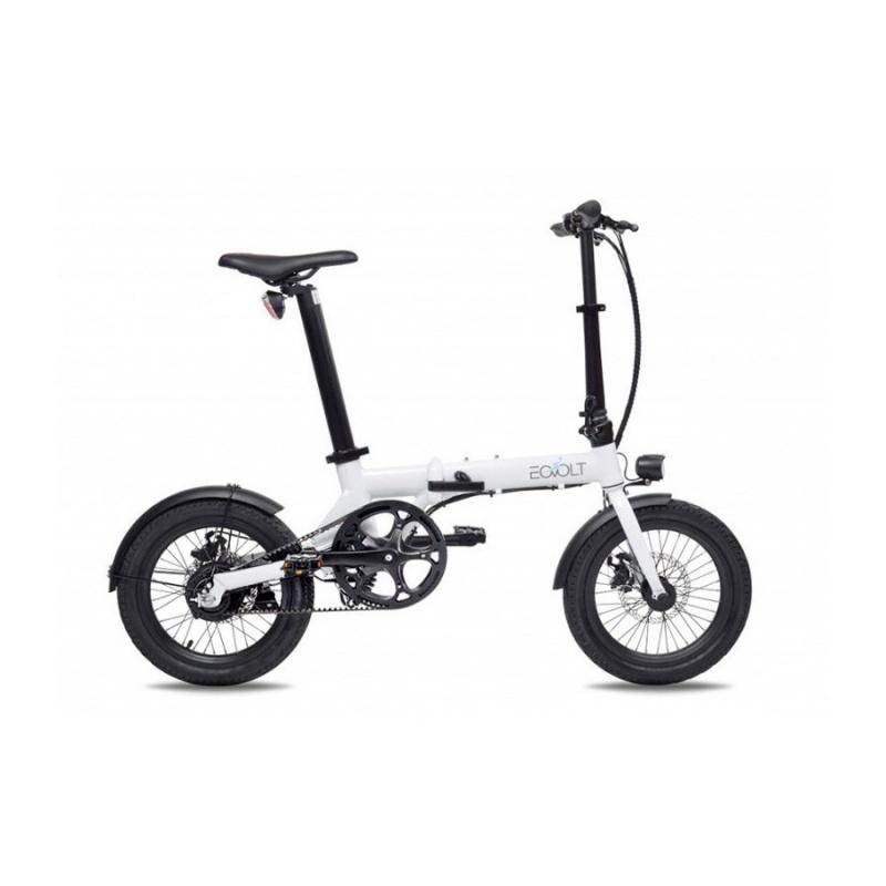 Vélo Electrique Pliable Eovolt City Belt Drive Blanc