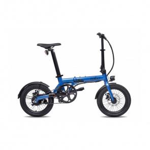 EOVOLT Vélo Electrique Pliable Eovolt City Belt Drive Bleu