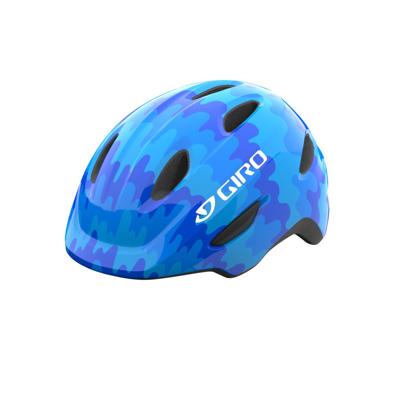 Casque Giro Junior Scamp Bleu Splash 2021