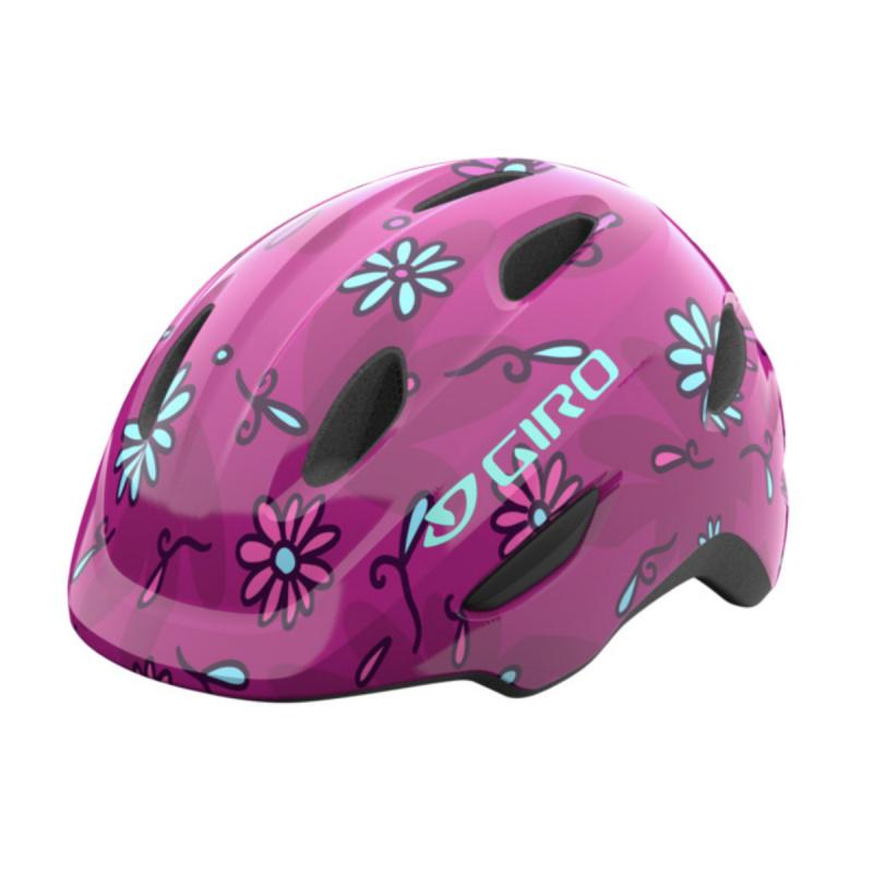 Casque Giro Junior Scamp Rose à Fleurs 2021