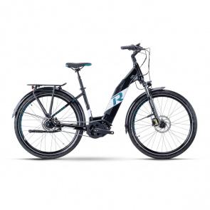 R Raymon Vélo Electrique R Raymon UrbanRay E 7.0 Easy Entry Noir/Blanc/Pétrol 2022 (5500004844)