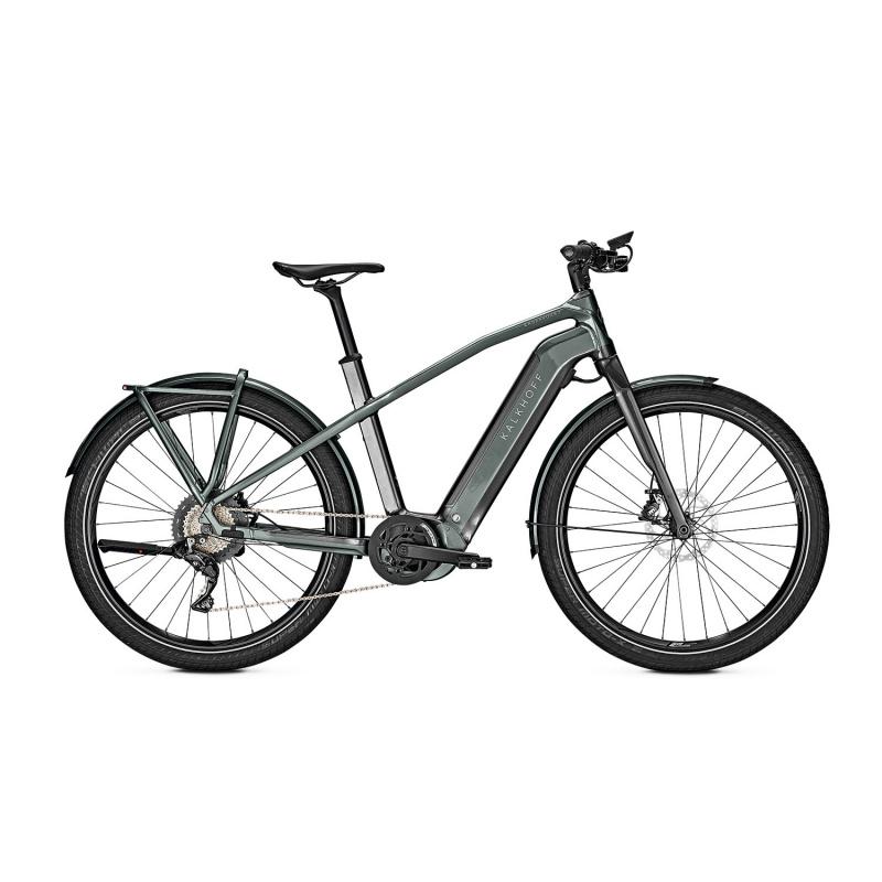 Vélo Electrique Kalkhoff Endeavour 7.B Pure 625 Noir/Vert 2021 (641529011-3) (641529011)