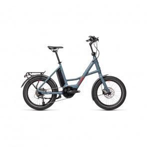 Cube 2021 Vélo Electrique Cube Compact Sport Hybrid 500 Bleu/Rouge 2021