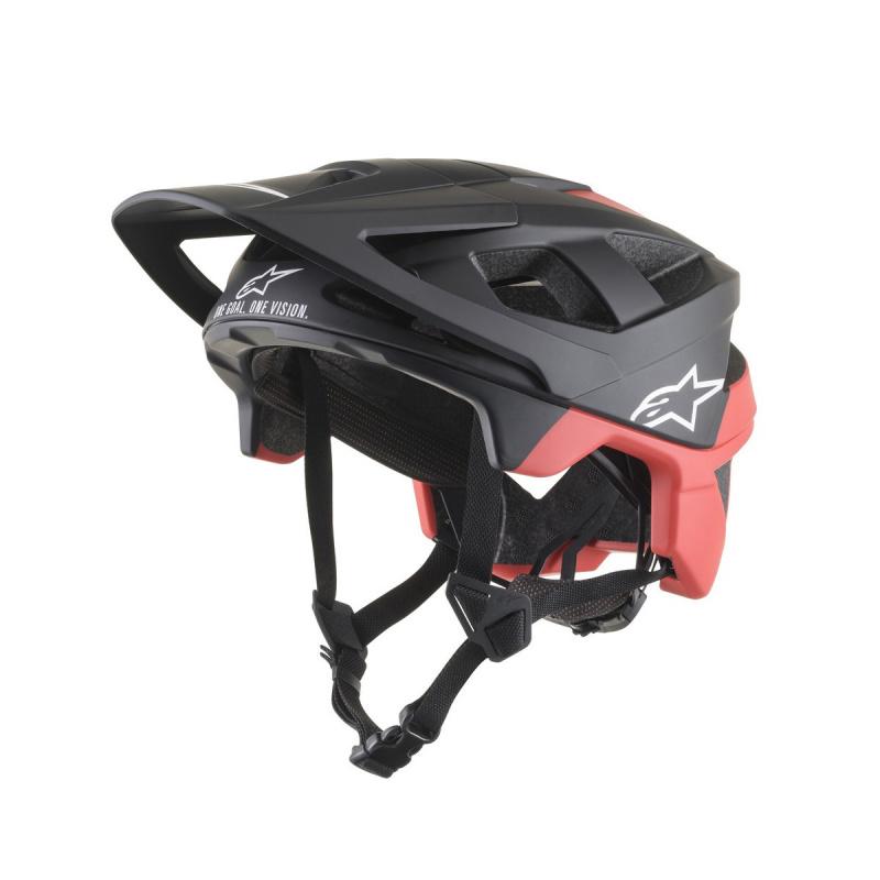 Casque Alpinestars Vector Pro Atom Noir/Rouge 2021 (8703019)