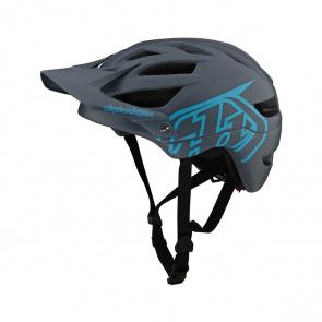 Troy Lee Designs Casque TLD A1 Gris/Bleu 2021 (131259)