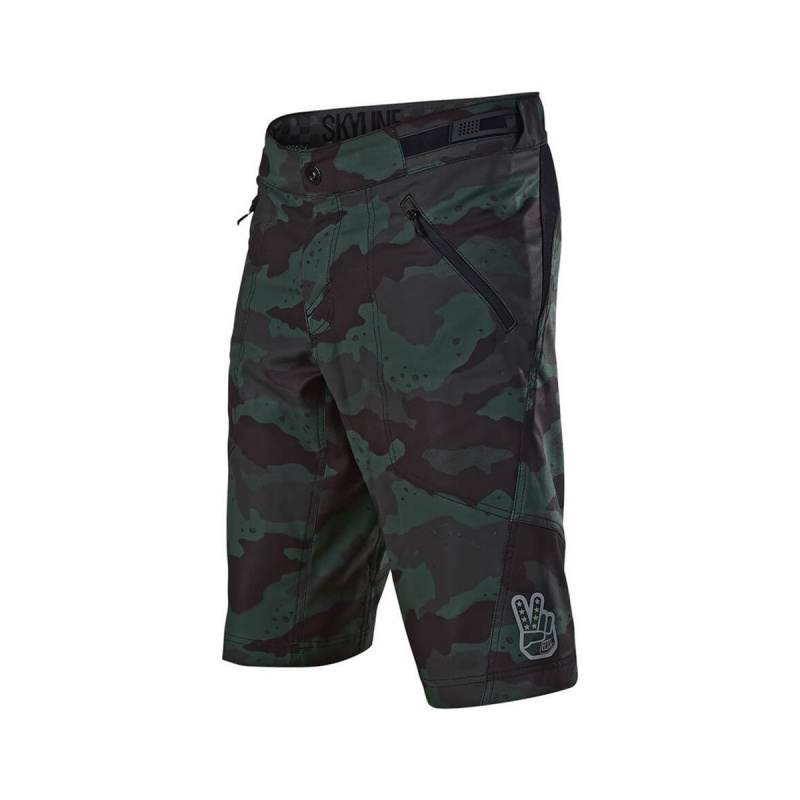 Short TLD Skyline Vert Camouflage 2021 (219249)