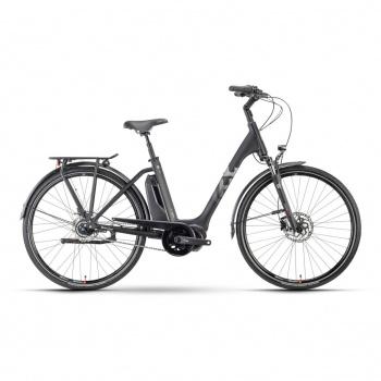Vélo Electrique Husqvarna Eco City 4  FW Easy Entry Noir/Argent 2021 (5000011748)