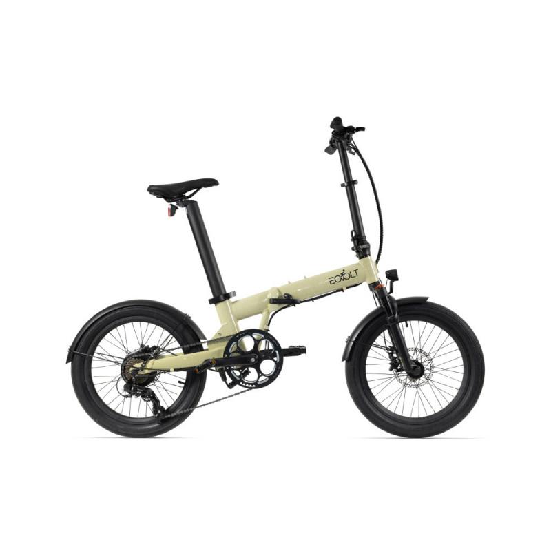 Vélo Electrique Pliable Eovolt Confort X Crème  (EVO6)