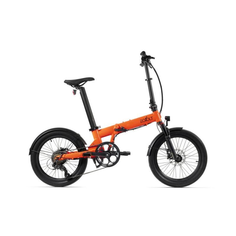 Vélo Electrique Pliable Eovolt Confort X Orange (EVO6)