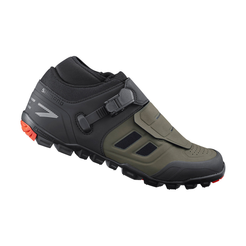 Chaussures Shimano VTT ME702 Olive 2021