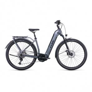 Cube 2022 Vélo Electrique Cube Kathmandu Hybrid Pro 625 Easy Entry Gris/Noir 2022 (531202)