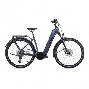 Cube 2022 Vélo Electrique Cube Touring Hybrid Pro 625 Easy Entry Gris/Noir 2022 (531102)