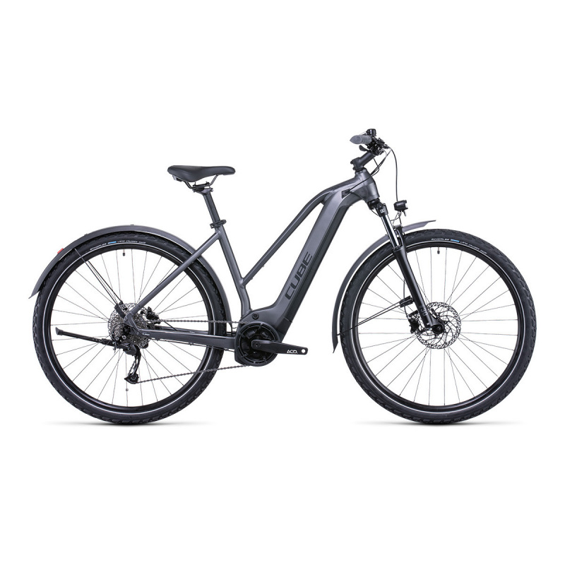 Vélo Electrique Cube Nuride Hybrid Performance Allroad 500 Trapèze Graphite/Noir 2022 (532651)
