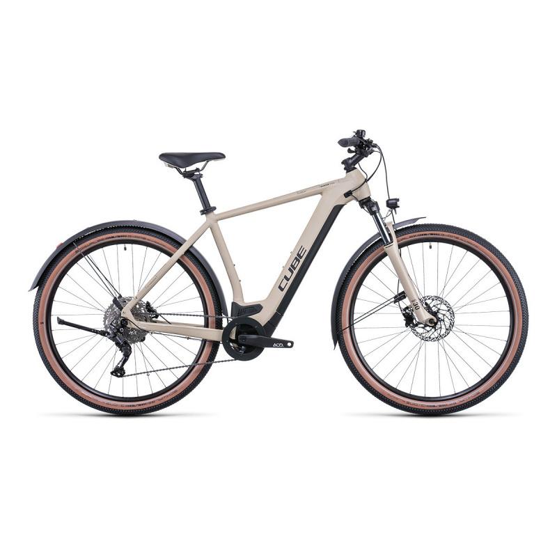 Vélo Electrique Cube Nuride Hybrid Pro Allroad 625 Désert/Noir 2022 (532761)