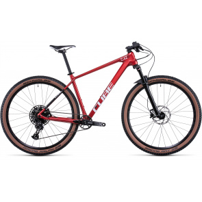 """Cube 2022 Cube Reaction C:62 ONE 29"""" MTB Rood/Wit 2022"""