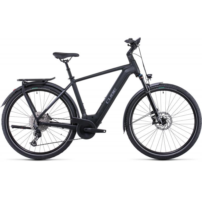 Vélo Electrique Cube Kathmandu Hybrid EXC 750 Noir/Argent 2022 (531253)