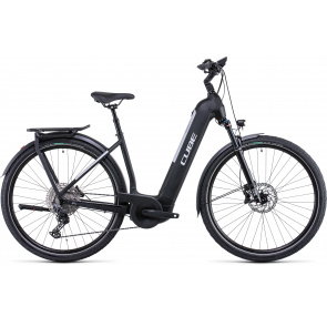 Cube 2022 Vélo Electrique Cube Kathmandu Hybrid EXC 750 Easy Entry Noir/Argent 2022 (531253)