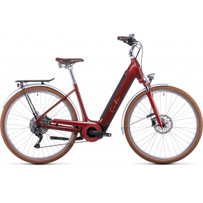 Cube 2022 Vélo Electrique Cube Ella Ride Hybrid 500 Easy Entry Auburn/Saumon 2022 (532501)