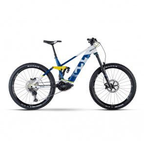 """Husqvarna VTT Electrique 27.5"""" Husqvarna Hard Cross 8 630 Bleu/Blanc 2021 (4000003042)"""