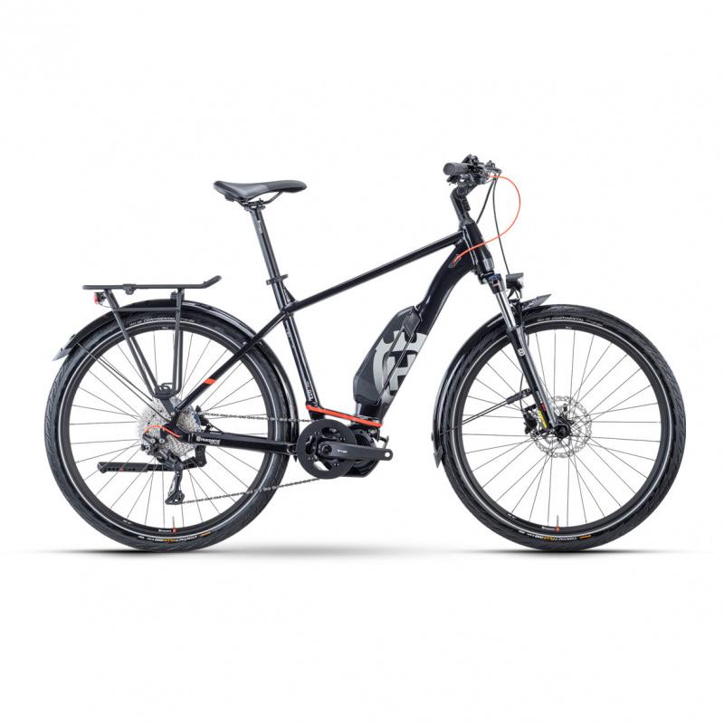 Vélo Electrique Husqvarna Gran Tourer 3 630 Noir/Rouge 2021 (5000006345)