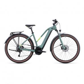 Vélo Electrique Cube Touring Hybrid One 500 Trapèze Vert/Vert 2022 (531061)