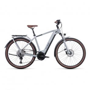 Vélo Electrique Cube Touring Hybrid Pro 500 Lunar/Gris 2022 (531111)