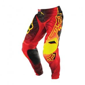 Fox Pantalon Fox 360 Flight Rouge/Jaune