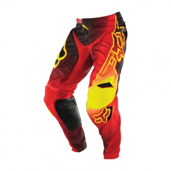 Pantalon Fox 360 Flight Rouge/Jaune